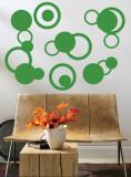 Green Rings Veggoverføringsbilde