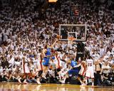 Dallas Mavericks v Miami Heat - Game Two, Miami, FL - JUNE 2: Dirk Nowitzki, Chris Bosh and Udonis  Photo by Garrett Ellwood