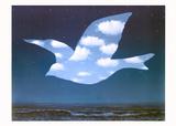 La Promesse Poster par Rene Magritte