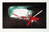 Composition (1958) Kunst av Georges Mathieu