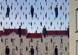 Golconde Affiches par Rene Magritte