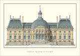 Chateau de Vaux-le-Vicomte, Maincy Posters av Le Vau, Louis
