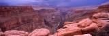 River Passing Through a Canyon, Toroweap Overlook, North Rim, Grand Canyon National Park, Arizona Photographic Print