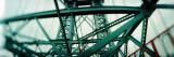 Low Angle View of a Suspension Bridge, Williamsburg Bridge, New York City, New York State, USA Photographic Print