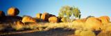 Rock Formations on a Landscape, Devil's Marbles, Northern Territory, Australia Fotografisk trykk