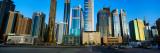Buildings in a City, Dubai, United Arab Emirates 2010 Fotografisk trykk