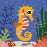 Ocean Friends, Samuel Poster par Jenn Ski