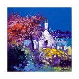 Spring at Crinan Collectable Print by John Lowrie Morrison