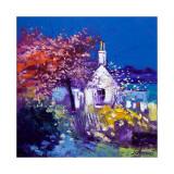 Spring at Crinan Lámina coleccionable por John Lowrie Morrison