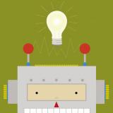 Peek-a-Boo Heroes: Robot Prints by Yuko Lau
