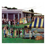 """Wedding Reception,"" June 9, 1962 Giclée-tryk af Ben Kimberly Prins"