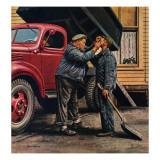 """""""Speck of Coal,"""" October 18, 1947 Reproduction procédé giclée par Stevan Dohanos"""