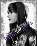 Justin Bieber-Never Photographie