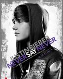Justin Bieber-Never Foto
