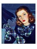 """April Shower,"" April 8, 1944 Giclee Print by Alex Ross"