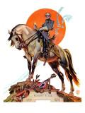 """""""Robert E. Lee on Traveler,"""" January 20, 1940 Giclee Print by Joseph Christian Leyendecker"""