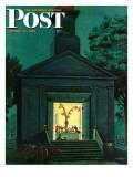 """""""Choir Practice,"""" Saturday Evening Post Cover, August 10, 1946 Reproduction procédé giclée par Stevan Dohanos"""