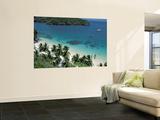 View of Beach, Ko Samui Island, Thailand Poster géant par Nik Wheeler