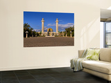 Bourguiba Mausoleum Grounds in Sousse, Monastir, Tunisia Vægplakat af Bill Bachmann