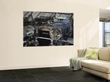 1930s-Era Amilcar Racing Car, Riga Motor Museum, Riga, Latvia Poster géant par Walter Bibikow