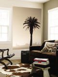 Palm Tree and Skyline Wall Mural by Thomas Winz