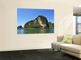 Island at Phang Nga Bay Wall Mural by Wilbowo Rusli