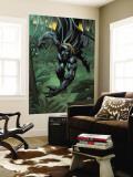 Black Panther 2099 No.1 Cover: Black Panther Veggmaleri av Pat Lee