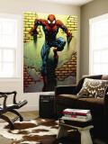 Ultimate Spider-Man No.72 Cover: Spider-Man Vægplakat af Mark Bagley