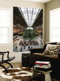 Tropical Garden and Cafe in Atocha Railway Station Wall Mural by Bruce Bi