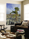 Giant Prickly Pear Cactus (Opuntia Spp.) Wall Mural by Manfred Gottschalk