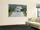 Falkirk Wheel Canal Boatlift Wall Mural by Doug McKinlay