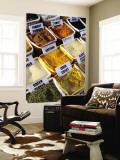 Spices for Sale at Market Fototapete von Dallas Stribley