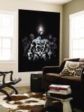 Inhumans 2099 No.1 Cover: Black Bolt and Inhumans Flying Veggmaleri av Pat Lee
