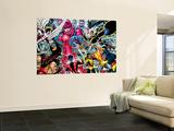 X-Men : Days Of Future Past Wrap Cover Cover: Wolverine Veggmaleri av John Byrne