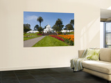 Conservatory of Flowers in Golden Gate Park Wall Mural by Sabrina Dalbesio