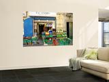 Ta'Jimmy Fruit and Vegetables Shop Mural por Jean-pierre Lescourret