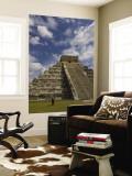El Castillo, Pyramid of Kukulkan Poster géant par Sabrina Dalbesio