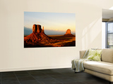 Monument Valley in Late Afternoon Veggmaleri av Douglas Steakley