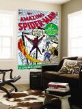 Amazing Spider-Man No.1 Cover: Spider-Man Vægplakat af Steve Ditko