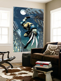 X-Men Unlimited No.5 Cover: Wolverine Fighting Veggmaleri av Pat Lee