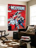 Wolverine No.2 Cover: Wolverine and Silver Samurai Veggmaleri av John Buscema