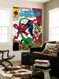 Amazing Spider-Man No.318 Cover: Spider-Man and Scorpion Wall Mural by Todd McFarlane