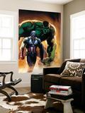 Ultimate Origins No.5 Cover: Captain America and Hulk Mural por Gabriele DellOtto