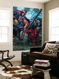 Ultimatum No.4 Cover: Spider-Man, Daredevil, Dr. Strange and Hulk Vægplakat af David Finch
