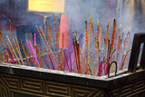 Incense Sticks Photographic Print by George Oze
