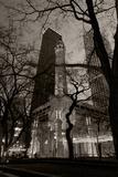 Chicago Water Tower BW Fotoprint van Steve Gadomski