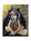 Nevermore Affiches par Jasmine Becket-Griffith