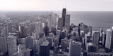 Chicago BW Fotografie-Druck von Steve Gadomski