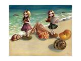 A la mer Affiches par Jasmine Becket-Griffith