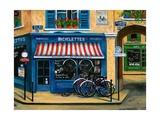 French Bicycle Shop Art par Marilyn Dunlap